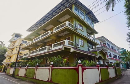 Bardez Guest House With Balcony, GHG005 Goa