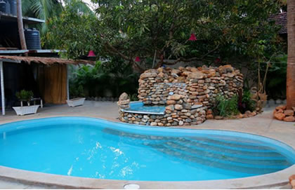 Vagator Guest House With Pool, GHG018 Goa